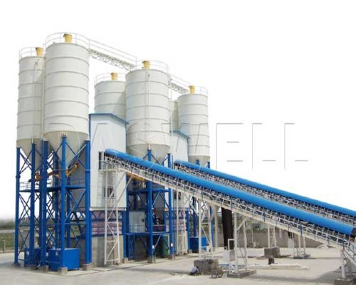 Belt Conveyor Concrete Batching Equipment