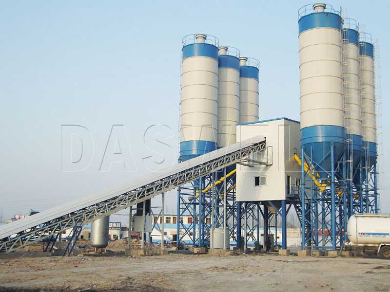 Buy Stationary Concrete Batching Plant at The Best Price in Daswell