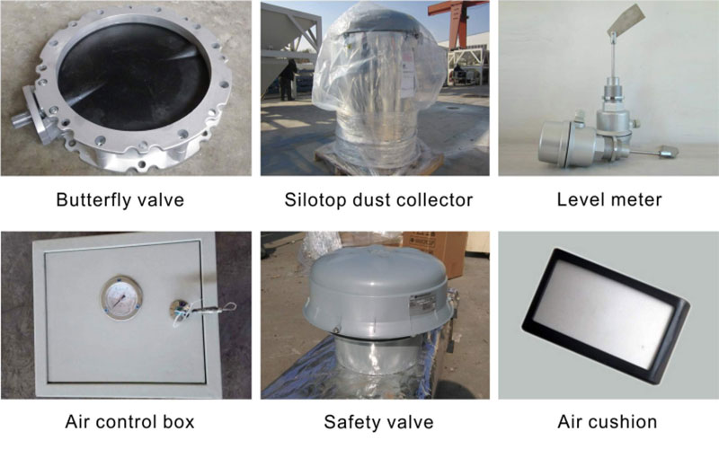 Accessories of Portable Cement Silo