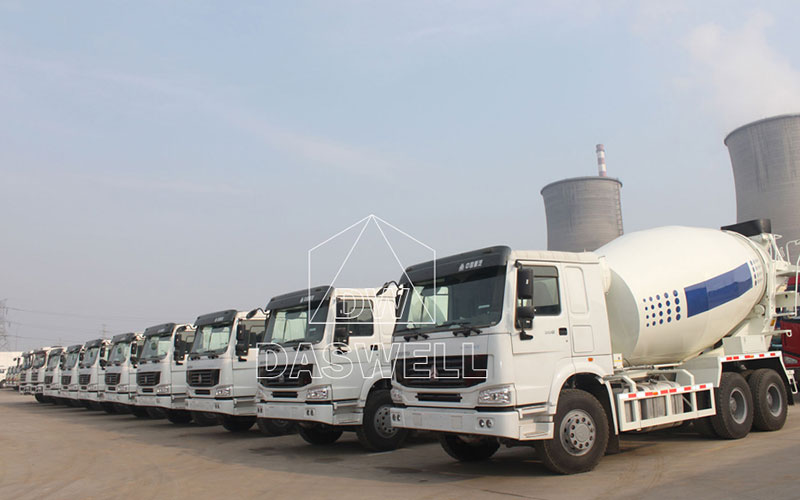 Daswell Concrete Mixer Truck with Cheap Price