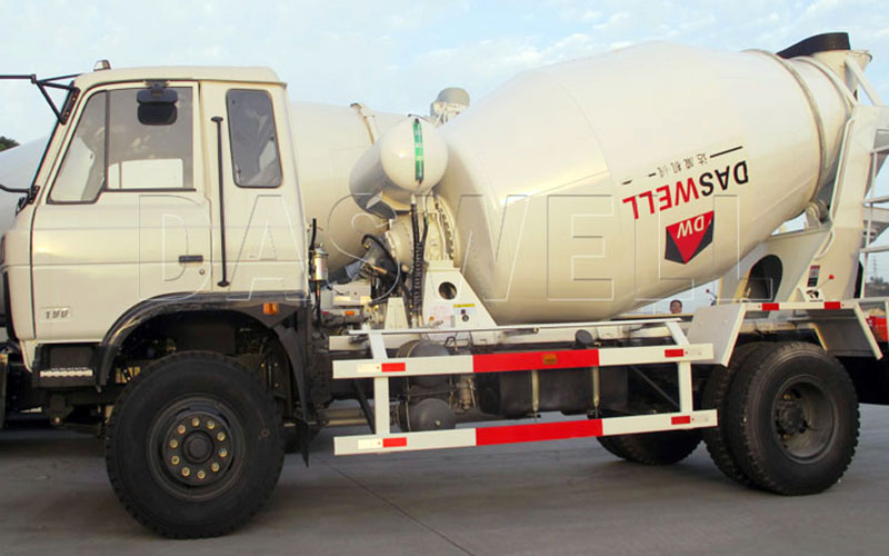 Daswell High Quality Concrete Mixer Truck