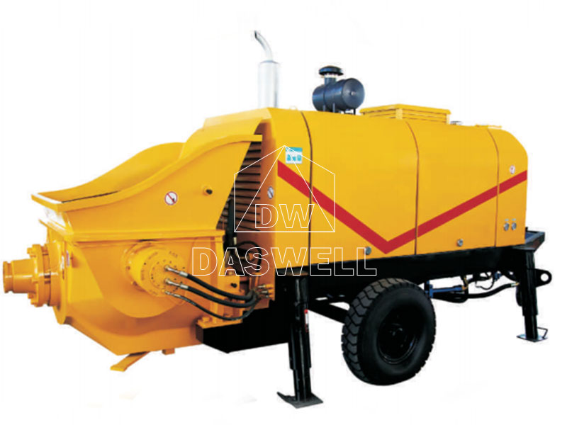 Diesel Concrete Trailer Pump for Sale