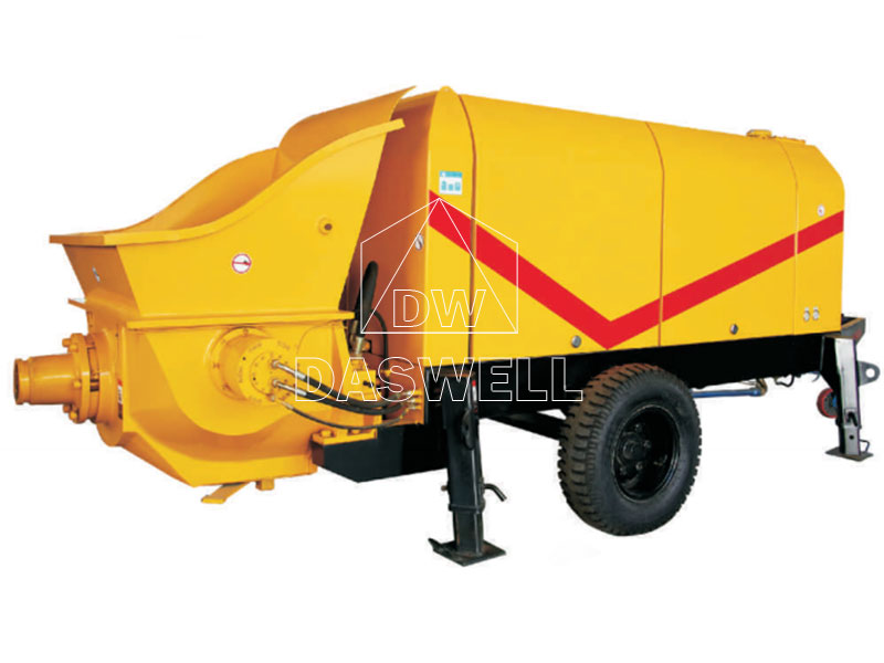 Electric Trailer Concrete Pump