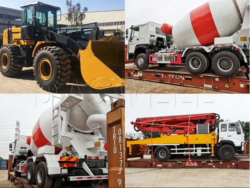 Four Sets of Concrete Transit Mixer for Sale in Philippines