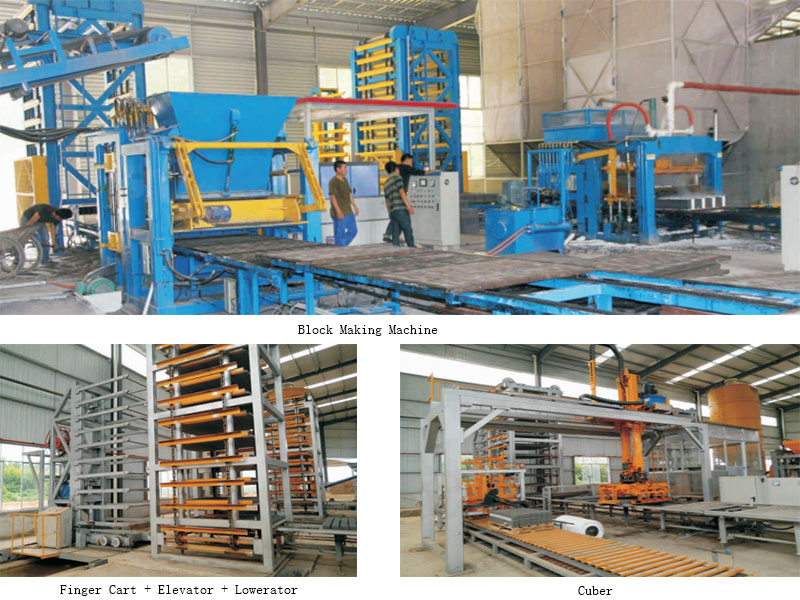 Fully Automatic Block Production Line
