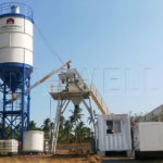 HZS25 Concrete Batching Plant for Sale in Philippines