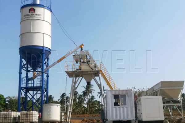 HZS25 Concrete Mixing Equipment for Customer