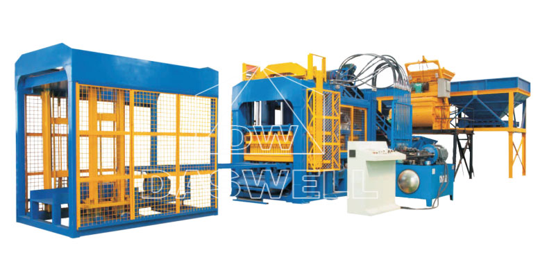 Hydraulic Automatic Brick Making Machine