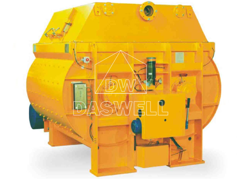 MEO Sicoma Twin Shaft Concrete Mixing Equipment