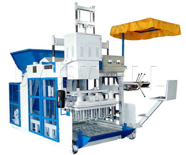 QMJ-10A/12A Mobile Brick Making Machine for Sale