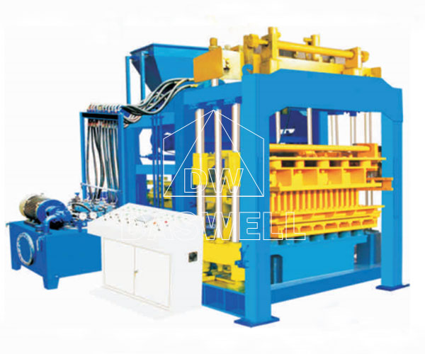 QT10-15QT12-15 Hydraulic Fly Ash Brick Making Machine