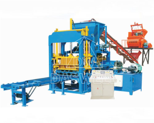 QT4-15QT5-15 Hydraulic Concrete Brick Making Machine