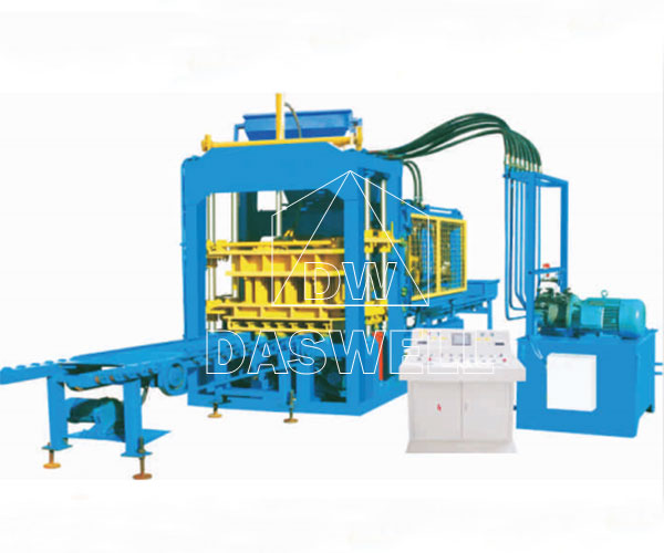 Automatic Concrete Block Making Equipment