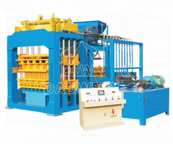 QT8-15 Hydraulic Concrete Block Making Machine