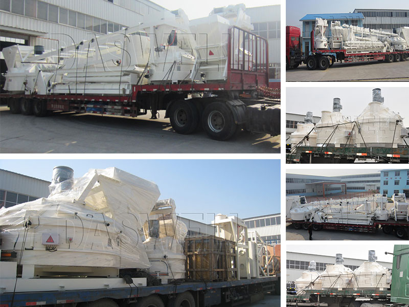 Transportation of Planetary Concrete Mixer