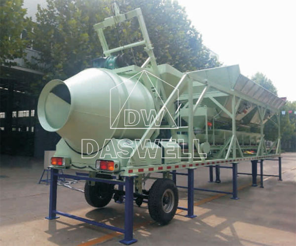 YHZM25 Mobile Concrete Batching Plant