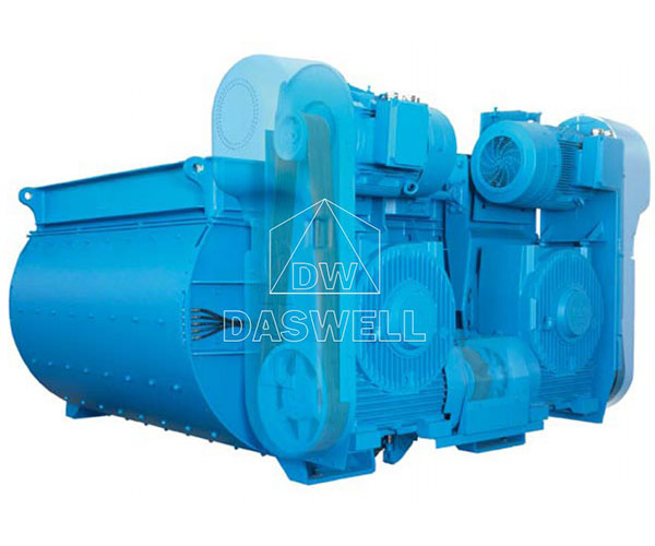 Daswell BHS Twin Shaft Concrete Mixing Equipment