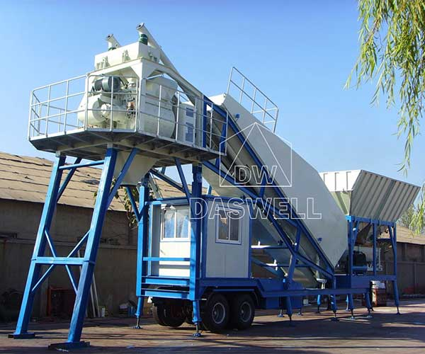 Daswell Portable Concrete Batch Plant for Sale