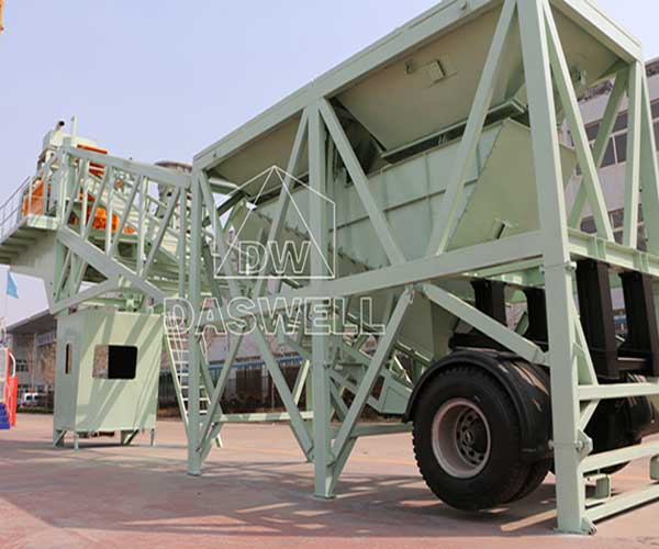 Portable Concrete Mixing Plant Parts