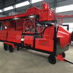 Mobile Drum Concrete Batch Plant